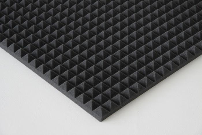 matten 1 m pyramiden schaum akustik schallschlucker. Black Bedroom Furniture Sets. Home Design Ideas